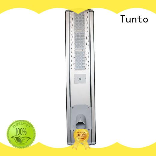High power outdoor motion sensor  Integrated  solar street light 80w T2-DM880