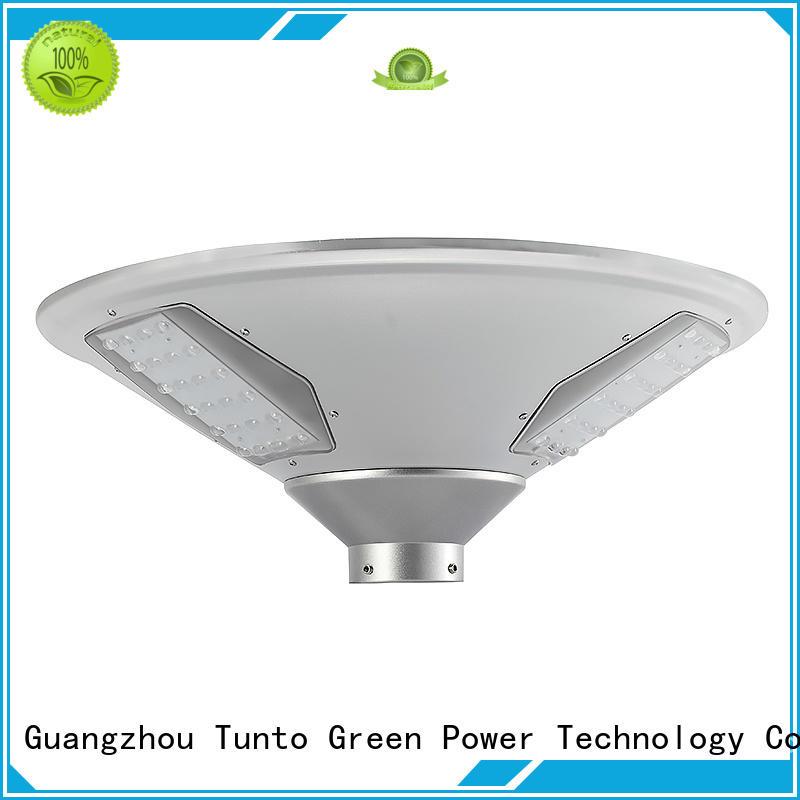 Tunto unique bright solar garden lights design for plaza