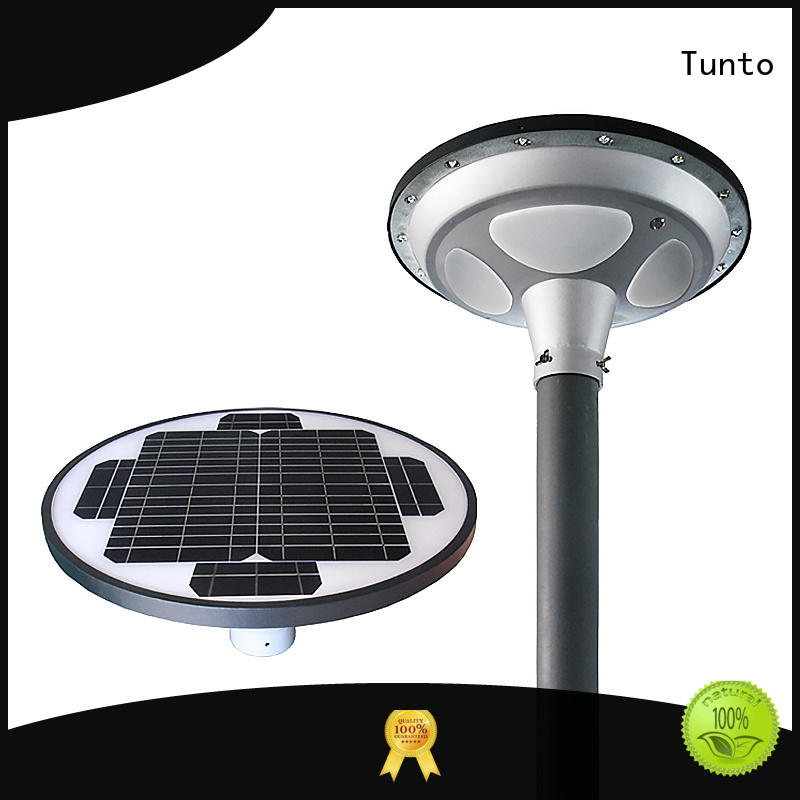 15w solar garden lights series for garden Tunto
