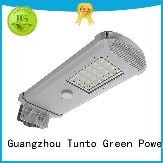 warm integrated solar street light wholesale for plaza