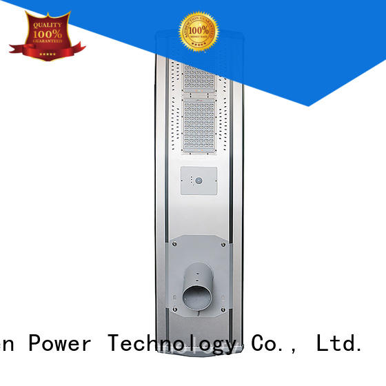 supper solar powered street lights price 4000lm for parking lot Tunto