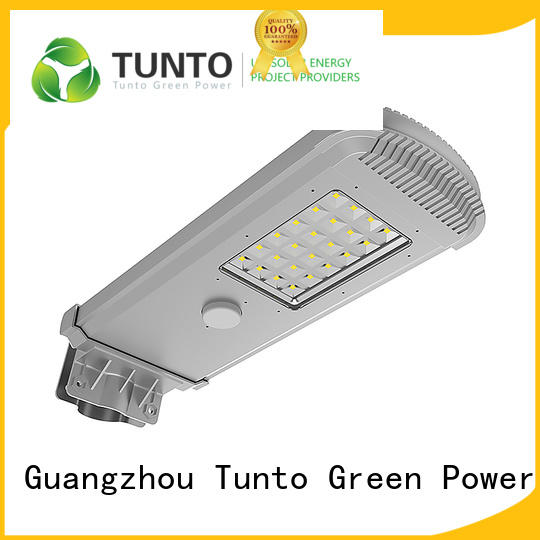 warm solar powered street lights factory price for parking lot