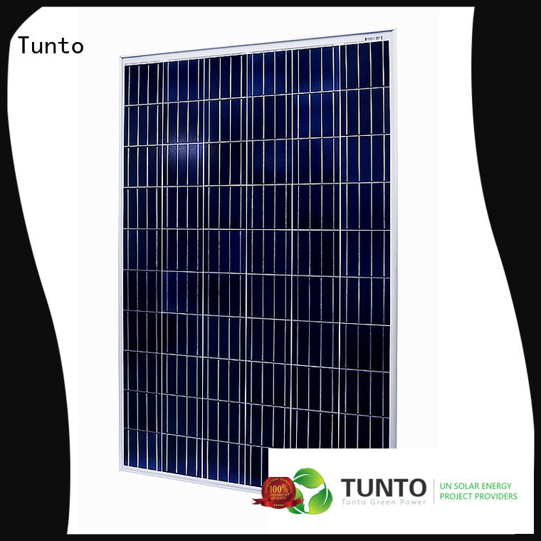 Tunto polycrystalline solar panel factory price for farm