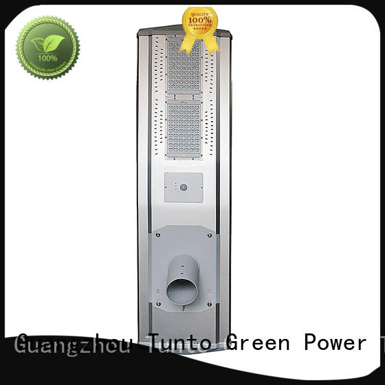 60w solar powered street lights supplier for plaza
