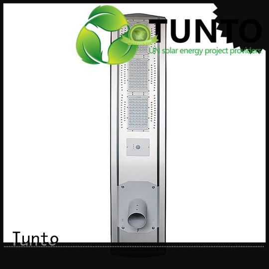 warm buy solar street light lamp for outdoor Tunto