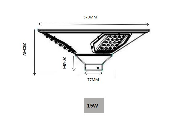 high quality solar garden lights factory for street lights-2