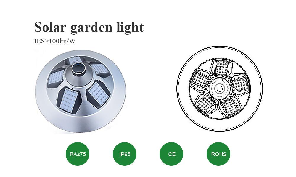 Tunto outdoor solar garden lights factory for garden-1
