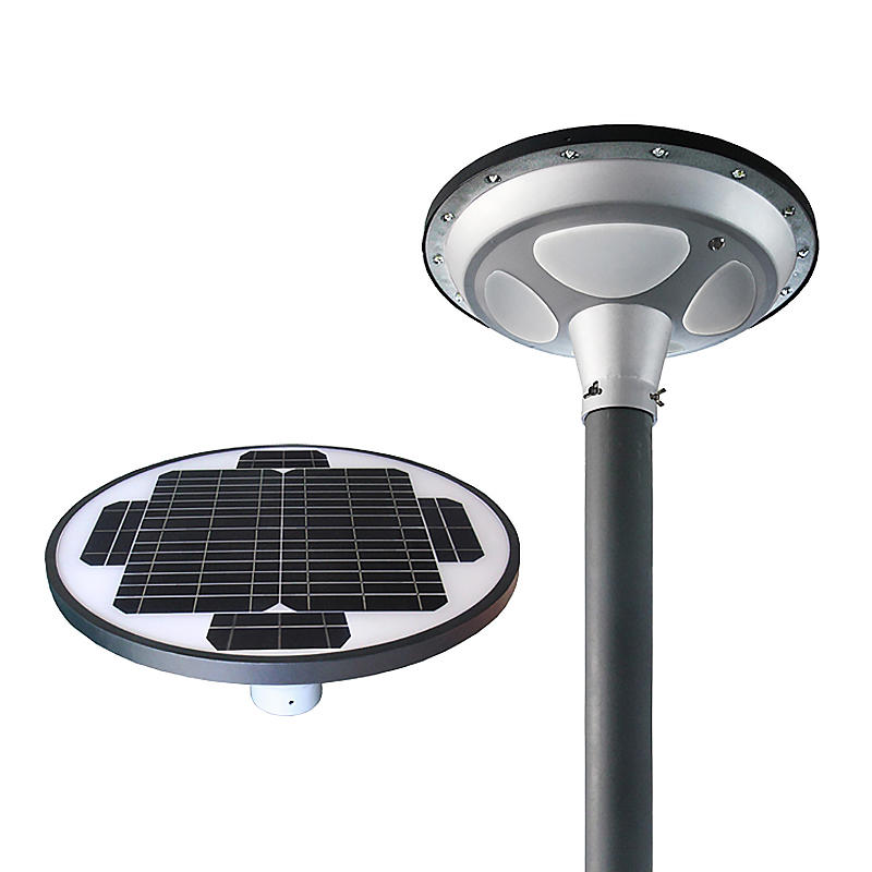 15W Outdoor Solar Intelligent Garden Light with unique design –T2-UFP15W