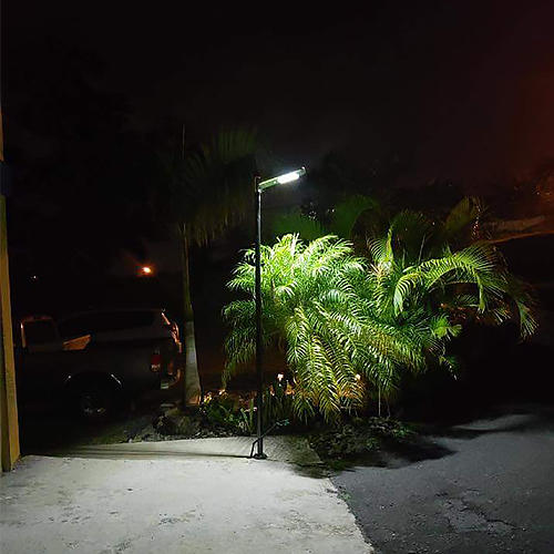 Tunto 40w all in one solar street light series for parking lot