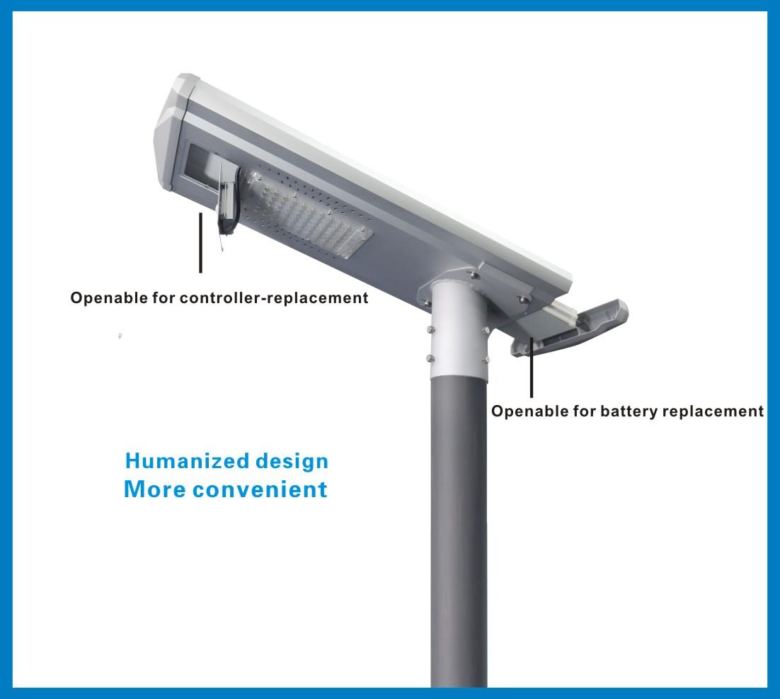 outdoor waterproof Tunto Brand integrated solar led street light