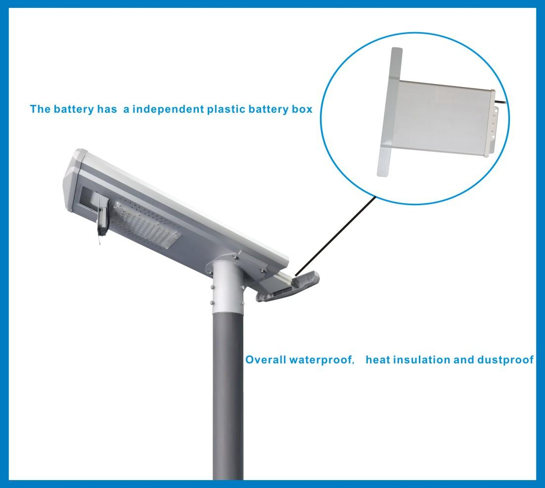 Tunto Brand power control lot integrated solar led street light