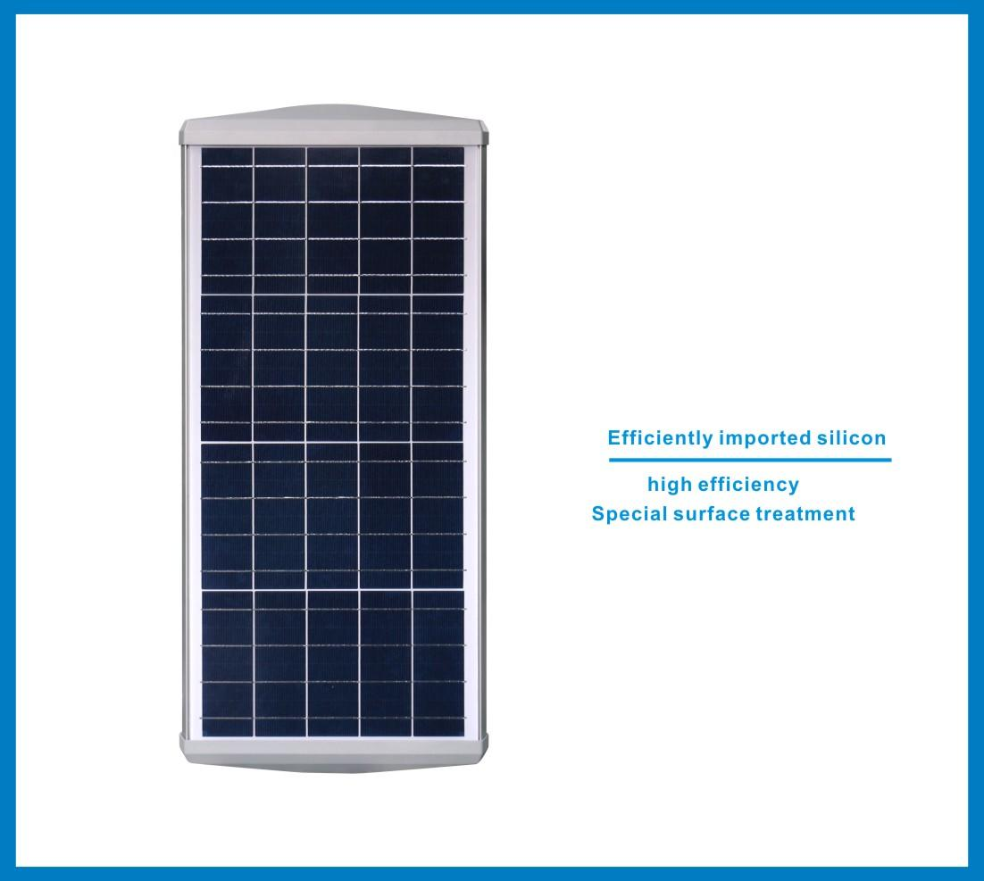 parking led solar integrated solar led street light Tunto manufacture