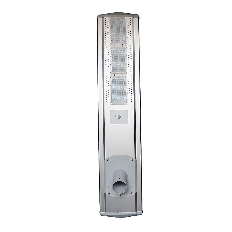 High power outdoor motion sensor  Integrated  solar street light 80w T2-DM880