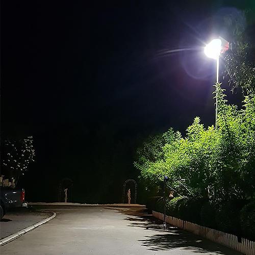 Tunto Brand warm integrated solar led street light solar supplier
