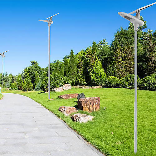 Custom battery solar powered street lights garden Tunto