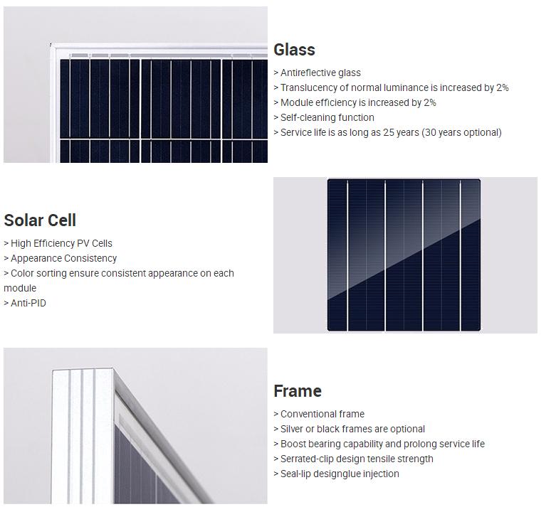 Tunto monocrystalline solar panel factory price for street lamp-2