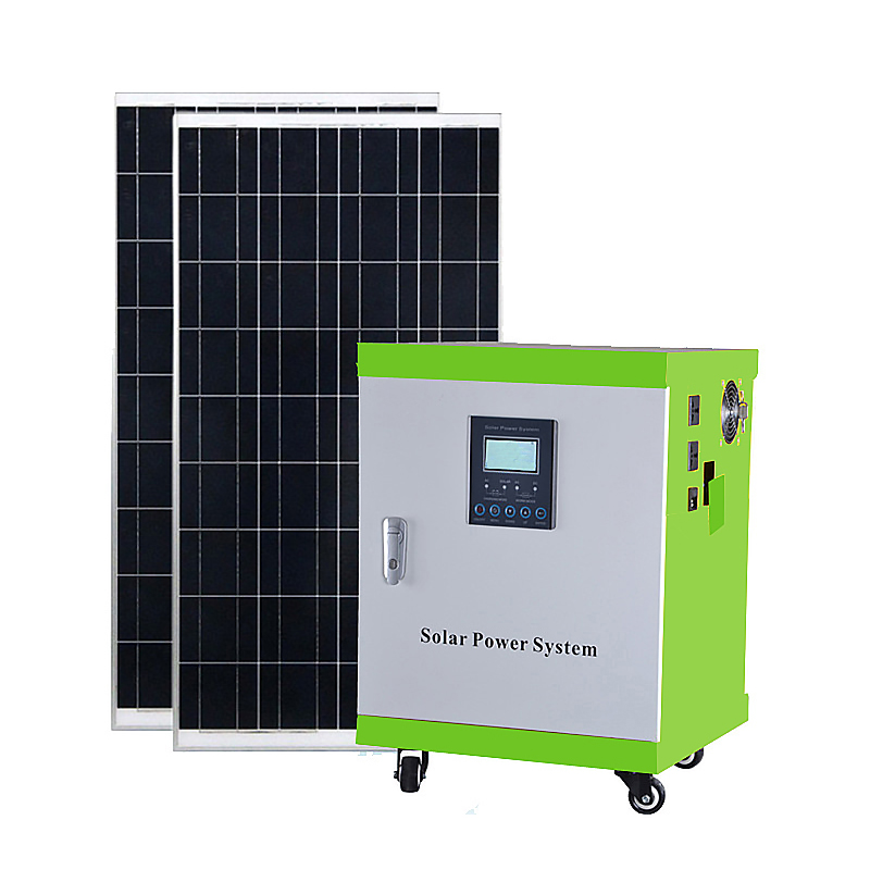 portable off grid solar power systems series for road-1