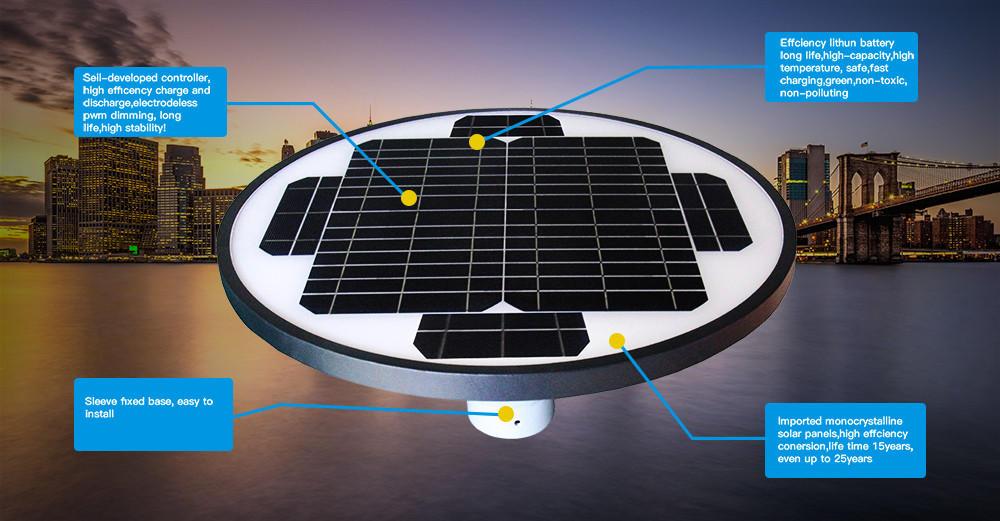 Tunto solar panel garden lights factory for household-2