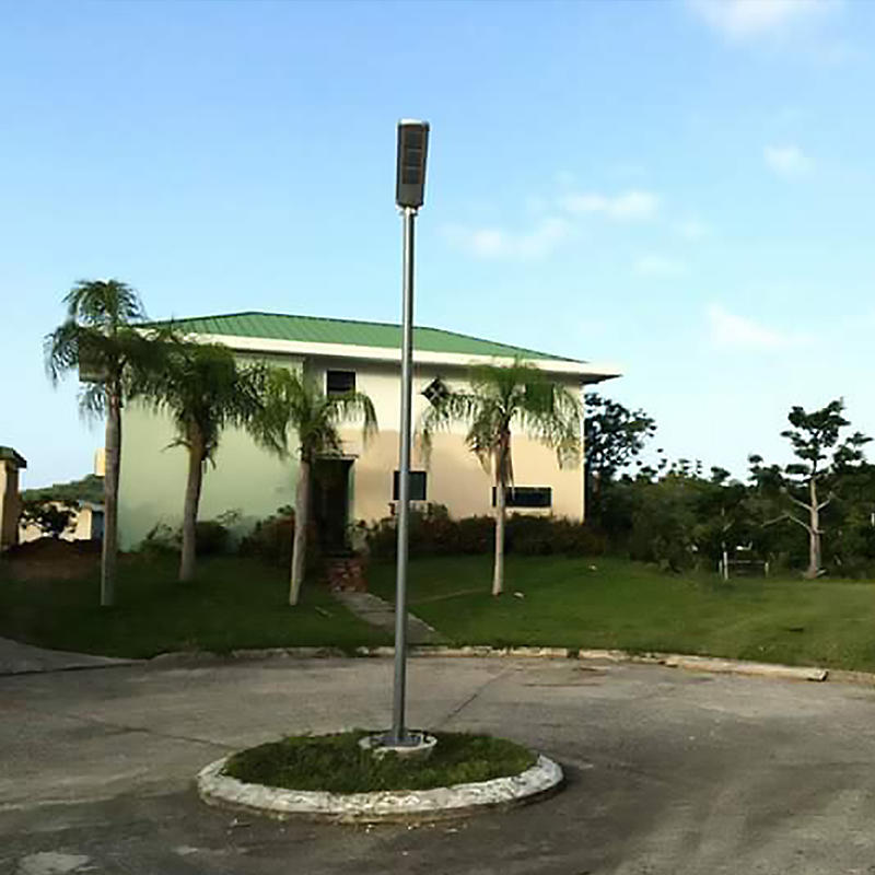 Solar powered led street lights in Puerto Rico