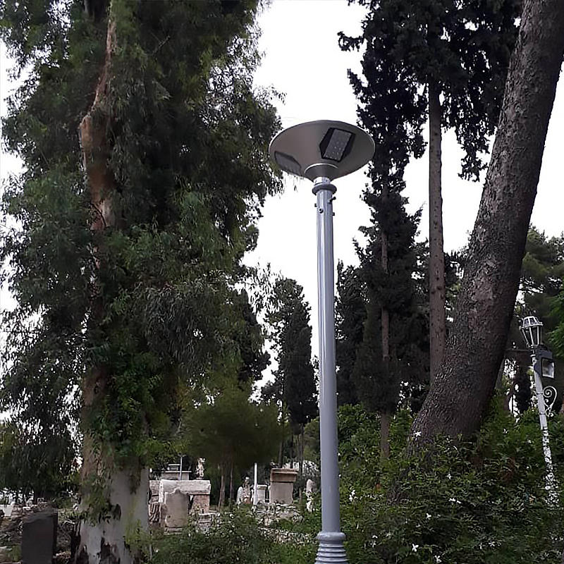 Decorative solar garden lights in Syria