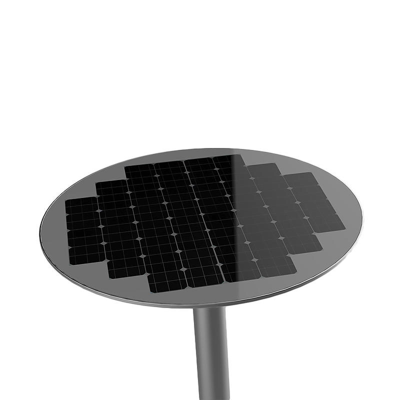 New 20W Solar round street light with remote—T2-J20