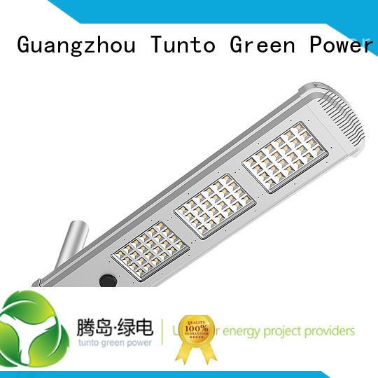integrated solar led street light energy Bulk Buy motion Tunto