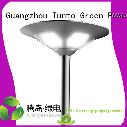 Tunto Brand solar plaza design solar plaza light