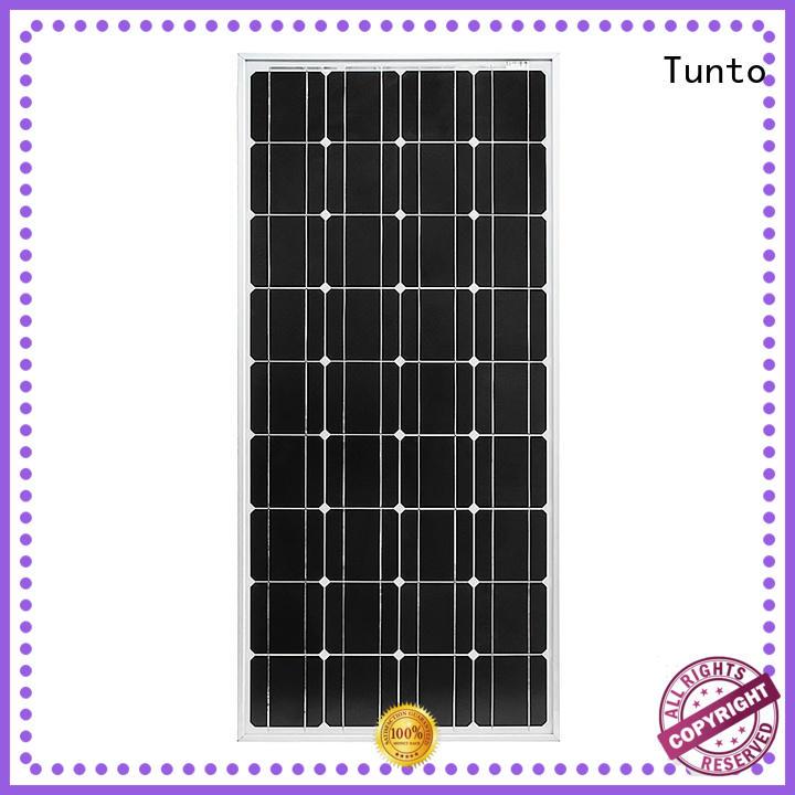 Tunto 100w multicrystalline solar panels for solar plant