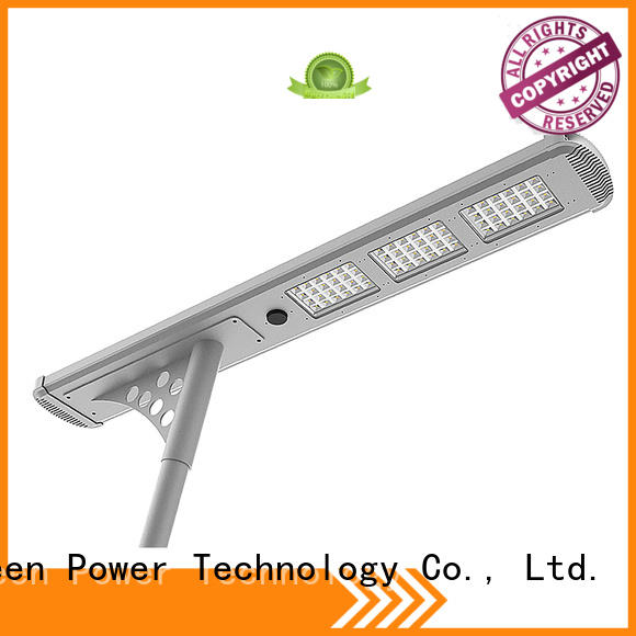 4000lm all in one solar street light supplier for plaza