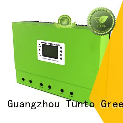 Tunto low input voltage solar power backup generator for garden