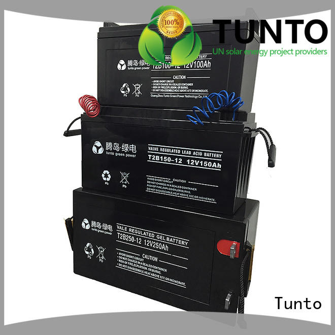 Tunto stable off grid solar kits with batteries for wind power generation