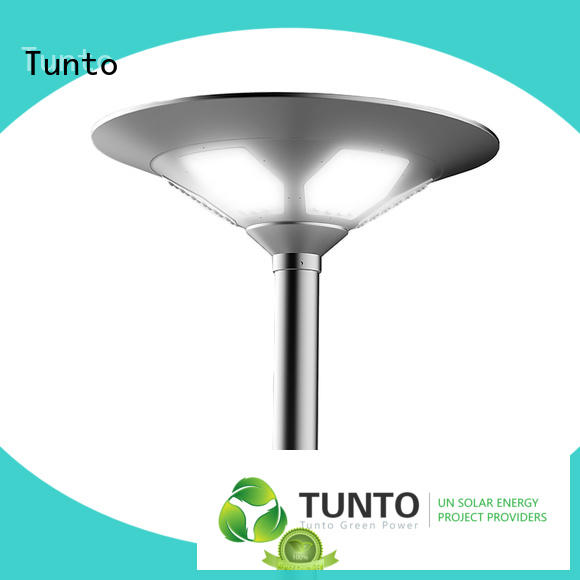Tunto remote solar outside lights with sensor inquire now for plaza