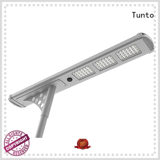 Quality Tunto Brand integrated solar led street light lamp powered