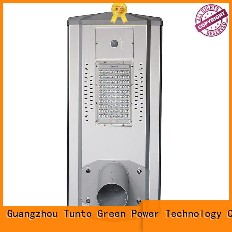 Tunto cool integrated solar street light wholesale for outdoor