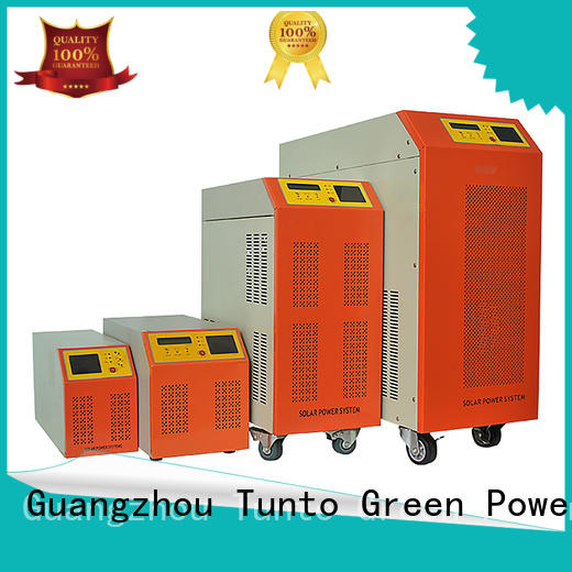 Tunto carborne hybrid solar inverter factory price for lights