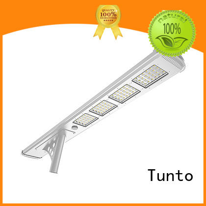 Tunto solar panel street lights wholesale for parking lot