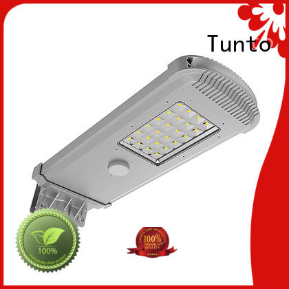 Tunto solar panel outdoor lights wholesale for parking lot