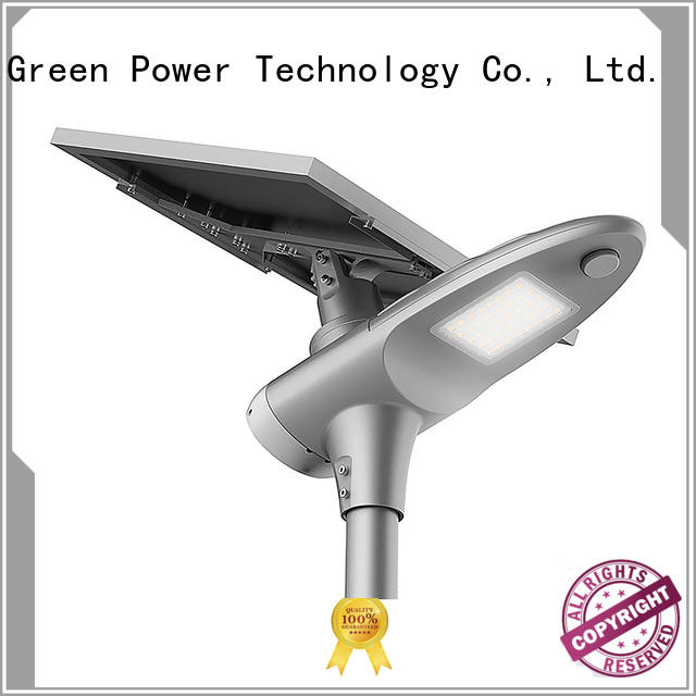 control intelligent solar powered street lights lights Tunto company