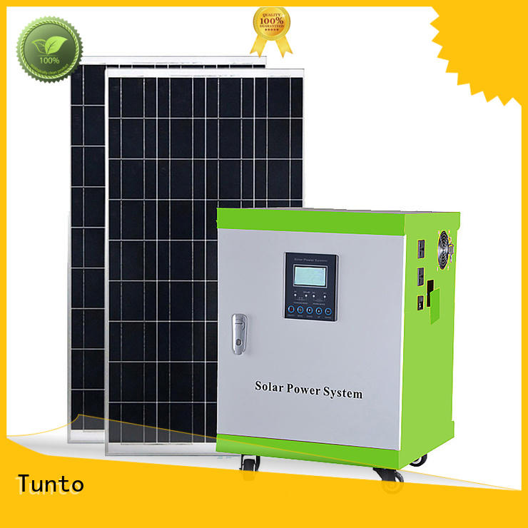 Tunto stable best solar generator 8000w for plaza