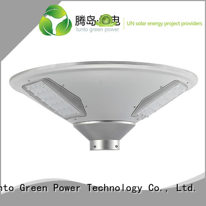 Quality Tunto Brand panel bright solar garden lights