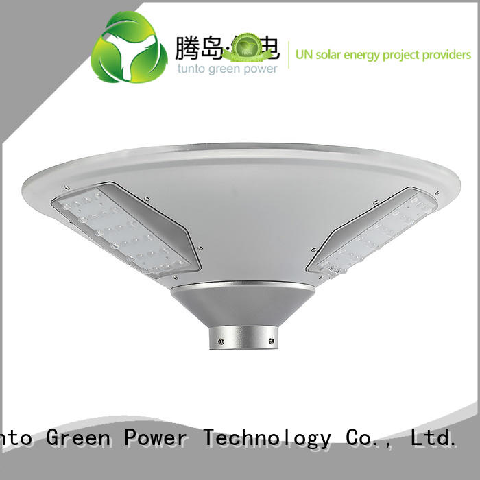 Quality Tunto Brand panel bright solar garden lights
