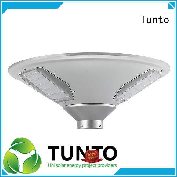 Tunto powered panel solar garden lights for sale series for street lights