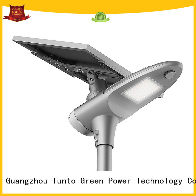 Tunto Brand one sensor garden integrated solar led street light