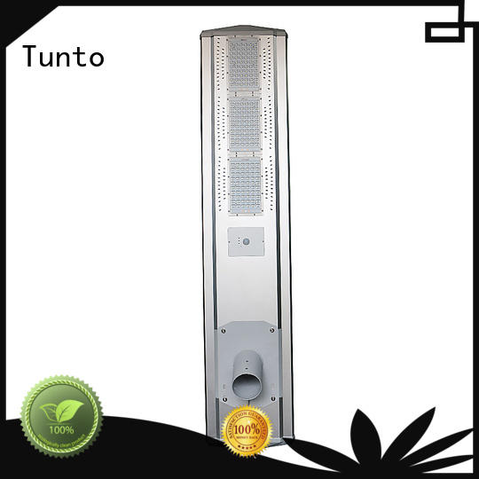 Tunto energy saving solar tree lights outdoor supplier for plaza