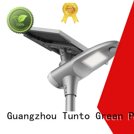 intelligent lamp solar powered street lights integrated Tunto