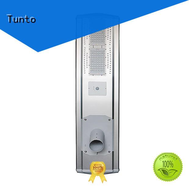 Tunto solar led street light factory price for outdoor
