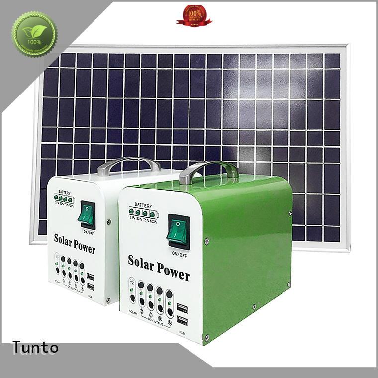 10W mini potable Solar system