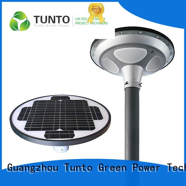 Tunto intelligent solar garden lighting system manufacturer for outdoor