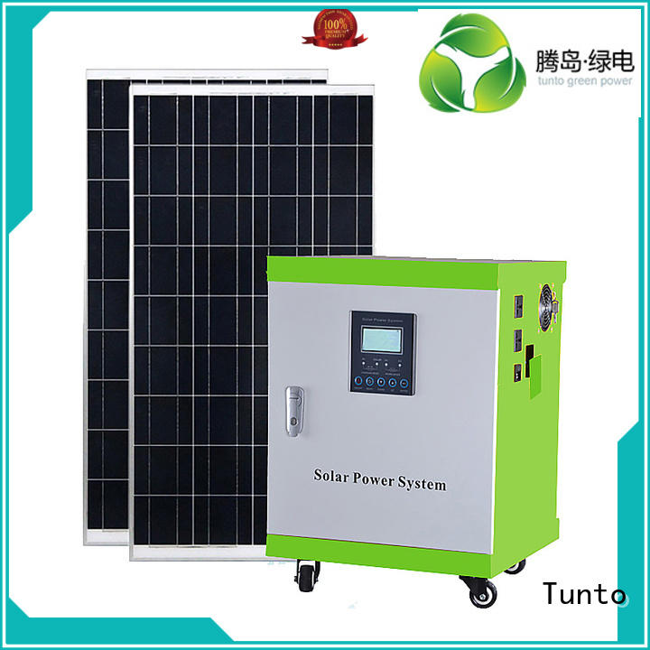 application potable Tunto Brand led street light solar system