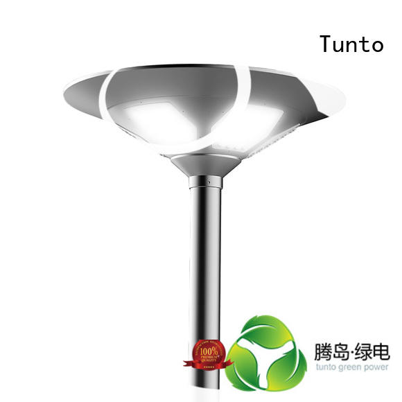 panel aluminum garden Tunto Brand solar plaza light factory